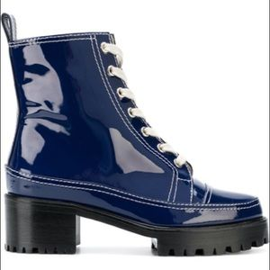 nicole saldana combat boots